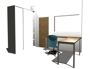 Progetto box reception ambulatoriale ( interno )