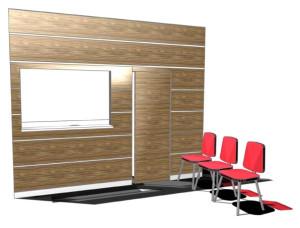 Progetto box reception ambulatoriale